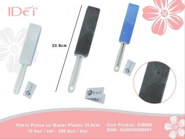 Piatra Ponce cu Maner Plastic 23.8cm 038609