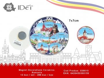 Magnet Decoratiune Ceramica Romania 039015