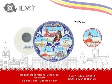 Magnet Decoratiune Ceramica Romania 039016