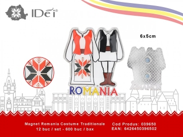 Magnet Romania Costume Traditionale 039650