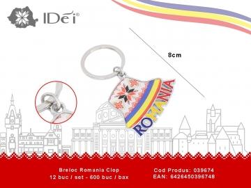 Breloc Romania Clop 039674