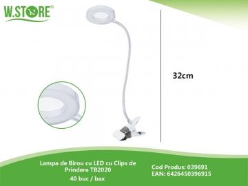 Lampa de Birou cu LED cu Clips de Prindere TB2020 039691