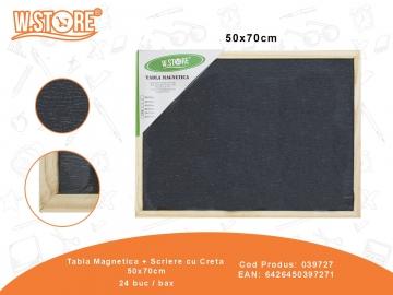 Tabla Magnetica + Scriere cu Creta 50x70cm 039727