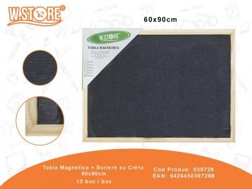 Tabla Magnetica + Scriere cu Creta 60x90cm 039728