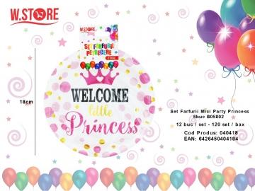 Set Farfurii Mici Party Princess 6buc B05802 040418