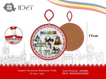 Suport Ceramica Romania 17cm 040583