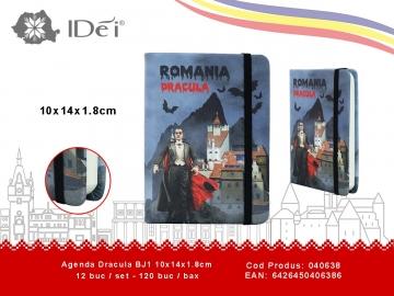 Agenda Dracula BJ1 10x14x1.8cm 040638