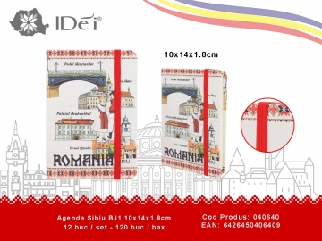 Agenda Sibiu BJ1 10x14x1.8cm 040640