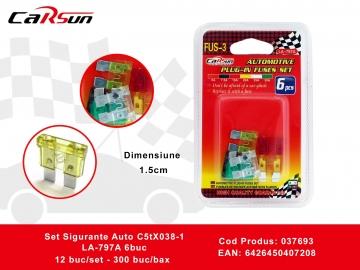 Set Sigurante Auto C5tX038-1 LA-797A 6buc 037693