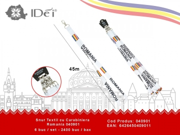 Snur Textil cu Carabiniera Romania 040901 040901