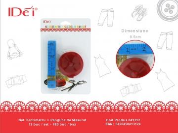 Set Centimetru + Panglica de Masurat 041312