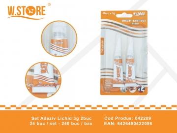 Set Adeziv Lichid 3g 2buc 042209