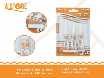 Set Adeziv Lichid 3g 3buc 042211