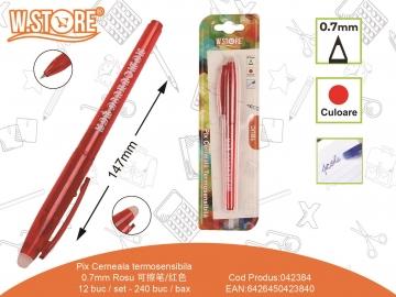Pix Cerneala Termosensibila 0.7mm PE171 Rosu 042384