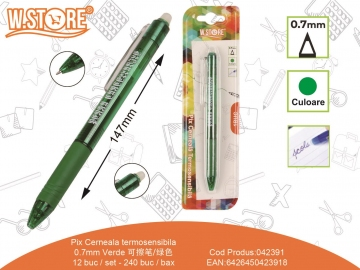 Pix Cerneala Termosensibila 0.7mm Verde 042391