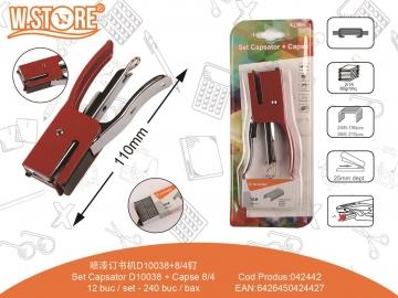 Set Capsator D10038 + Capse 24/6 042442