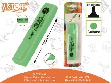 Marker Evidentiator Verde 042474