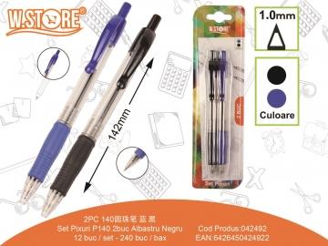 Set Pixuri P140 2buc Albastru Negru 042492