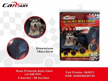 Husa Protectie Auto Caini LA-240 PVC 042673