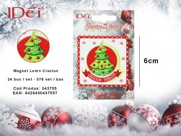 Magnet Lemn Craciun 043755
