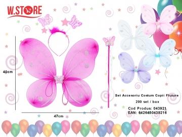 Set Accesoriu Costum Copii Fluture 043921