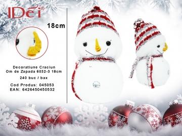 Decoratiune Craciun Om de Zapada 6032-3 18cm 045053