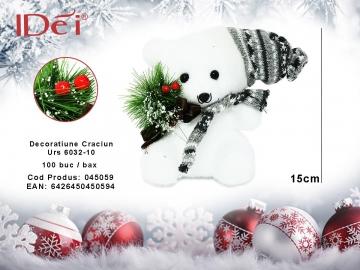 Decoratiune Craciun Urs 6032-10 045059