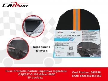 Husa Protectie Parbriz Impotriva Inghetului C3jX017-5 191x99cm 600D 045756