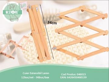Cuier Extensibil Lemn 046015