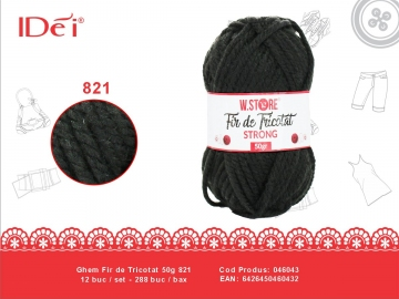Ghem Fir de Tricotat 50g 821 046043