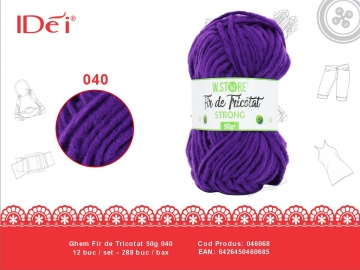 Ghem Fir de Tricotat 50g 040 046068