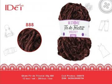 Ghem Fir de Tricotat 50g 888 046078