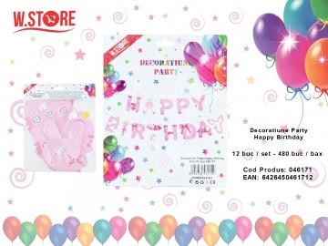 Decoratiune Party Happy Birthday 046171