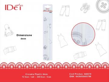 Croseta Plastic 4mm 046579