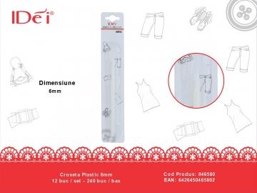 Croseta Plastic 6mm 046580