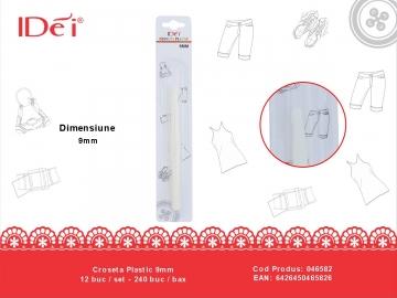 Croseta Plastic 9mm 046582
