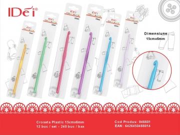 Croseta Plastic 15cmx6mm 046601