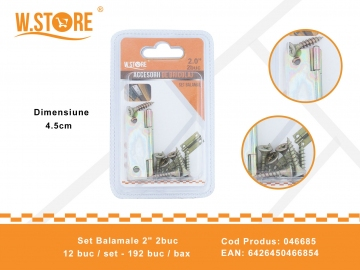 "Set Balamale 2"" 2buc 046685"