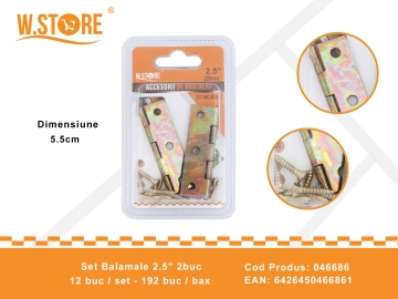 "Set Balamale 2.5"" 2buc 046686"