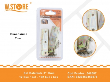 "Set Balamale 3"" 2buc 046687"