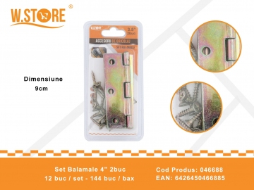 "Set Balamale 4"" 2buc 046688"
