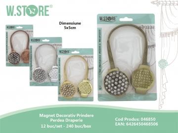 Magnet Decorativ Prindere Perdea Draperie 046850