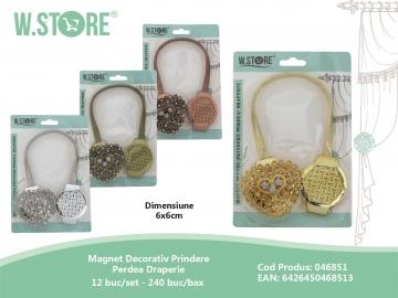 Magnet Decorativ Prindere Perdea Draperie 046851