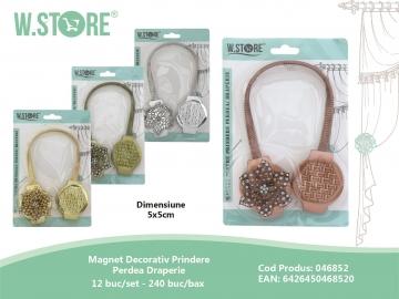 Magnet Decorativ Prindere Perdea Draperie 046852