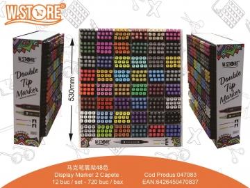 Display Markere 2 Capete 047083