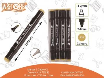 Marker 2 Capete Culoare 41 047095