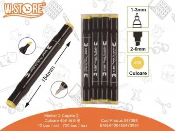 Marker 2 Capete Culoare 45 047098