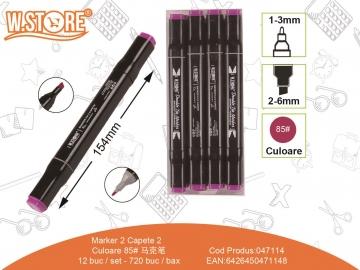 Marker 2 Capete Culoare 85 047114