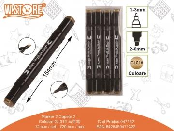 Marker 2 Capete GL01 Auriu 047132