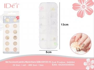 Set Accesorii pentru Manichiura DZB-530125-16 048064